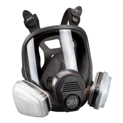 LARGE FULL FACE RESPIRATOR