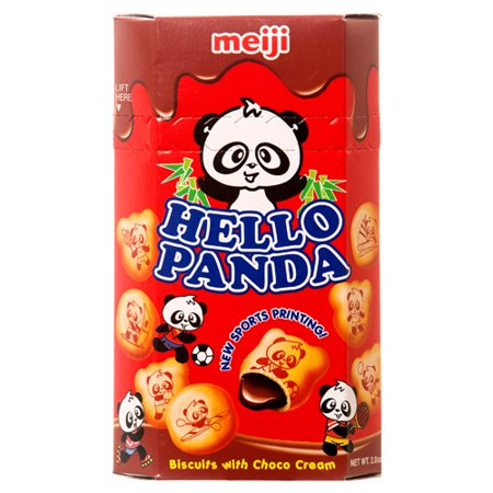 New 334056  Hello Panda 2 Oz Chocolate (10-Pack) Cookies Cheap Wholesale Discount Bulk Snacks Cookies Bud Vase Cut Out Christmas Cookies