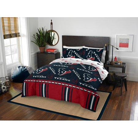 Houston Texans Queen Bed In Bag Set