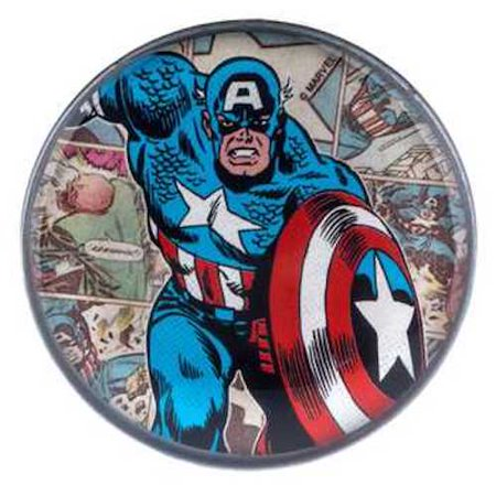 Captain America Decorations (Marvel Captain America Metal Drawer Knob Home Decoration)