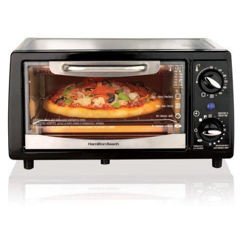 Hamilton Beach 31134 4 Slice Capacity Toaster Oven