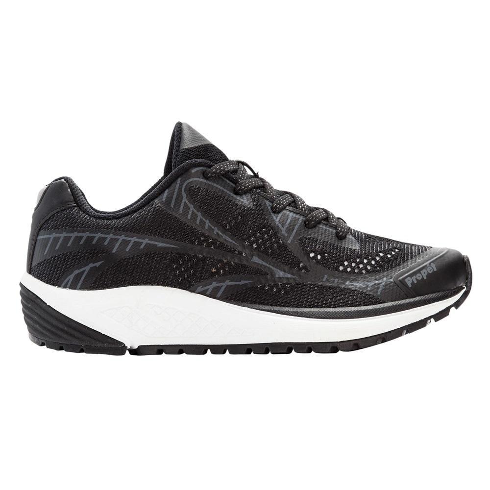 Propet One LT Shoes 4E(XX) Black/Grey
