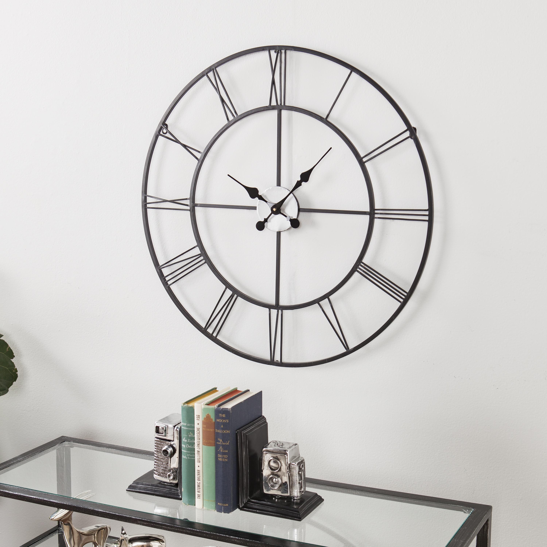 Southern Enterprises Empire Decorative Wall Clock
