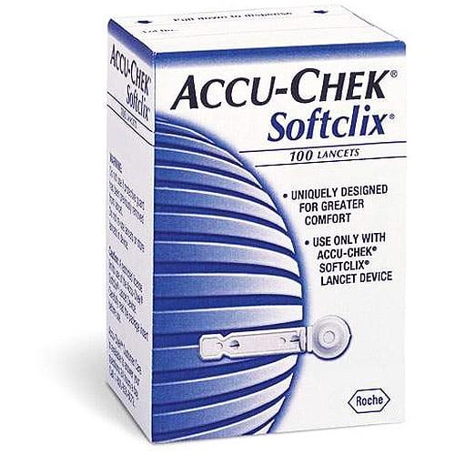 Accu-Chek Softclix Lancets, 100ct