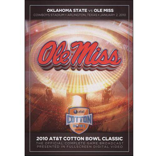 2010 AT&T Cotton Bowl Classic: Oklahoma State Vs. Ole Miss
