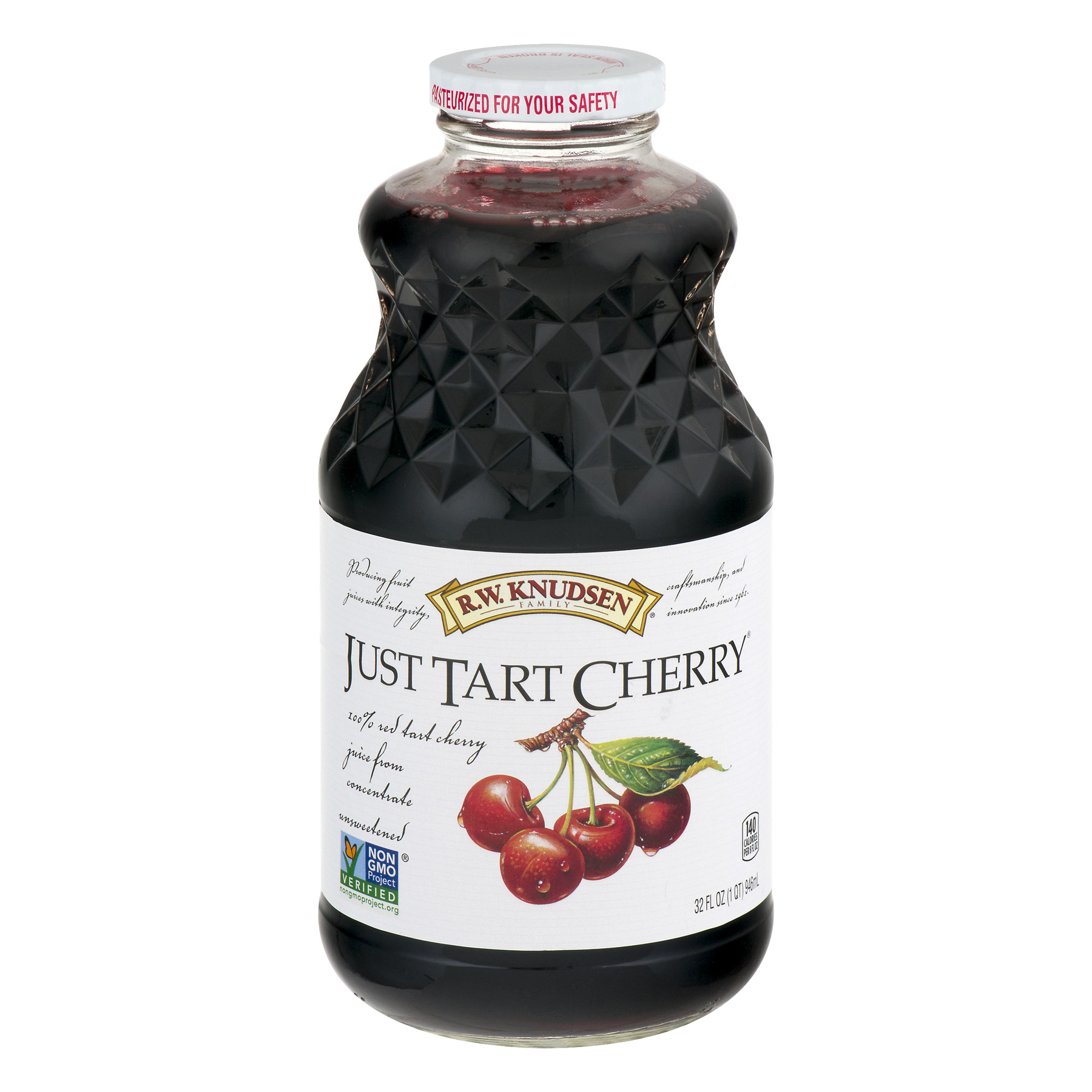 R.W. Knudsen 100% Juice, Tart Cherry, 32 Fl Oz, 1 Count