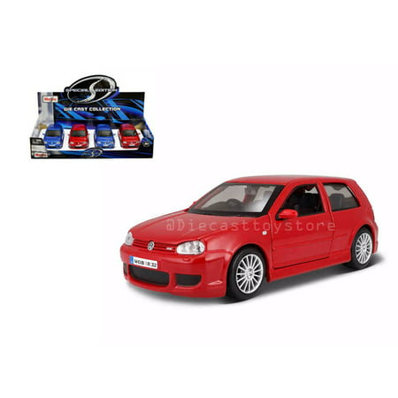 - MAISTO 1:24 DISPLAY SPECIAL EDITION VOLKSWAGEN GOLF R32 SET OF 2 34290 WITHOUT RETAIL BOX