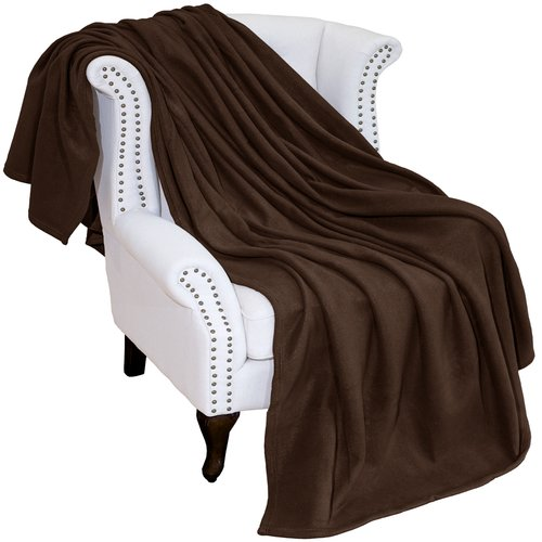 Click here to buy Bare Home Polar Fleece Blanket by Bare Home.