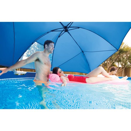 intex pool canopy for 12 18 39 above ground round metal frame and ultra frame pools. Black Bedroom Furniture Sets. Home Design Ideas