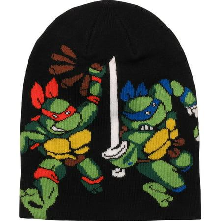 Ninja Turtles Heroes Attack Pose Black Beanie