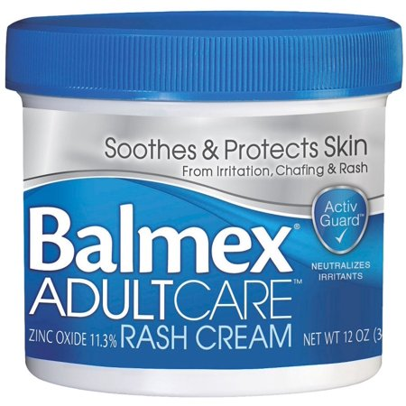 2 Pack - Balmex Adult Care Rash Cream 12 oz