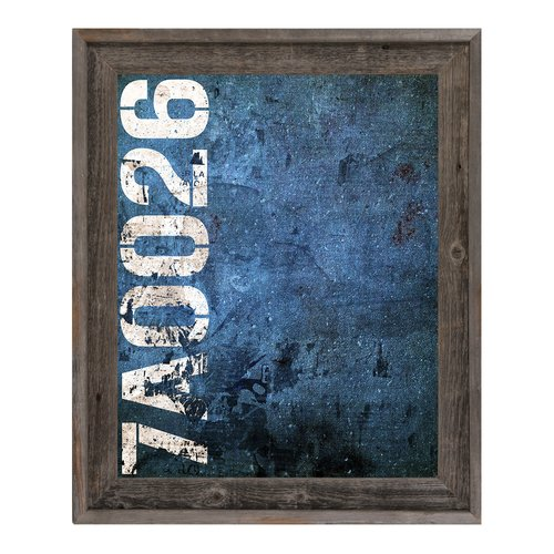 Click Wall Art 7A0026 Sign Framed Textual Art on Canvas