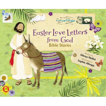 Easter Love Letters from God : Bible - Easter Bible Verses For Kids