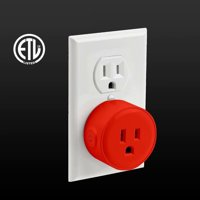 Litedge Smart Plug, Red - 1-Pack