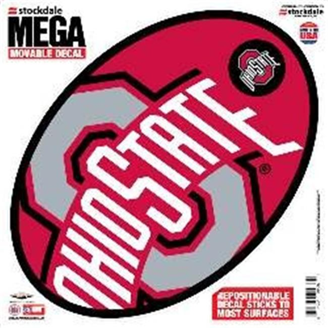 Ohio State Buckeyes Decal - 12''x12'' Mega