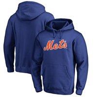New York Mets Fanatics Branded Team Wordmark Pullover Hoodie - Royal