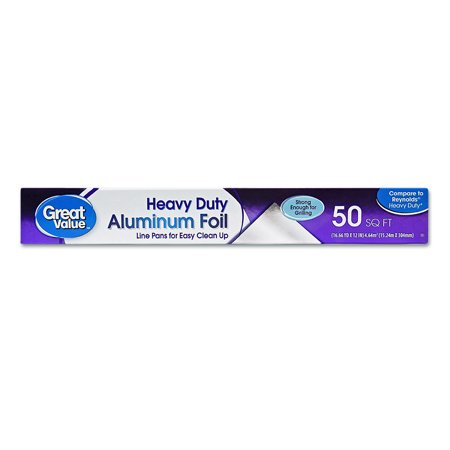Great Value Heavy Duty Foil, 50 sq ft