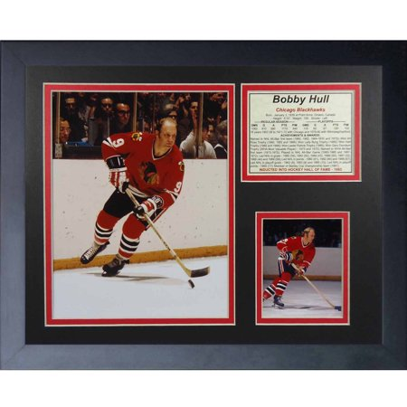 Legends Never Die Bobby Hull Collage Photo Frame  11  X 14