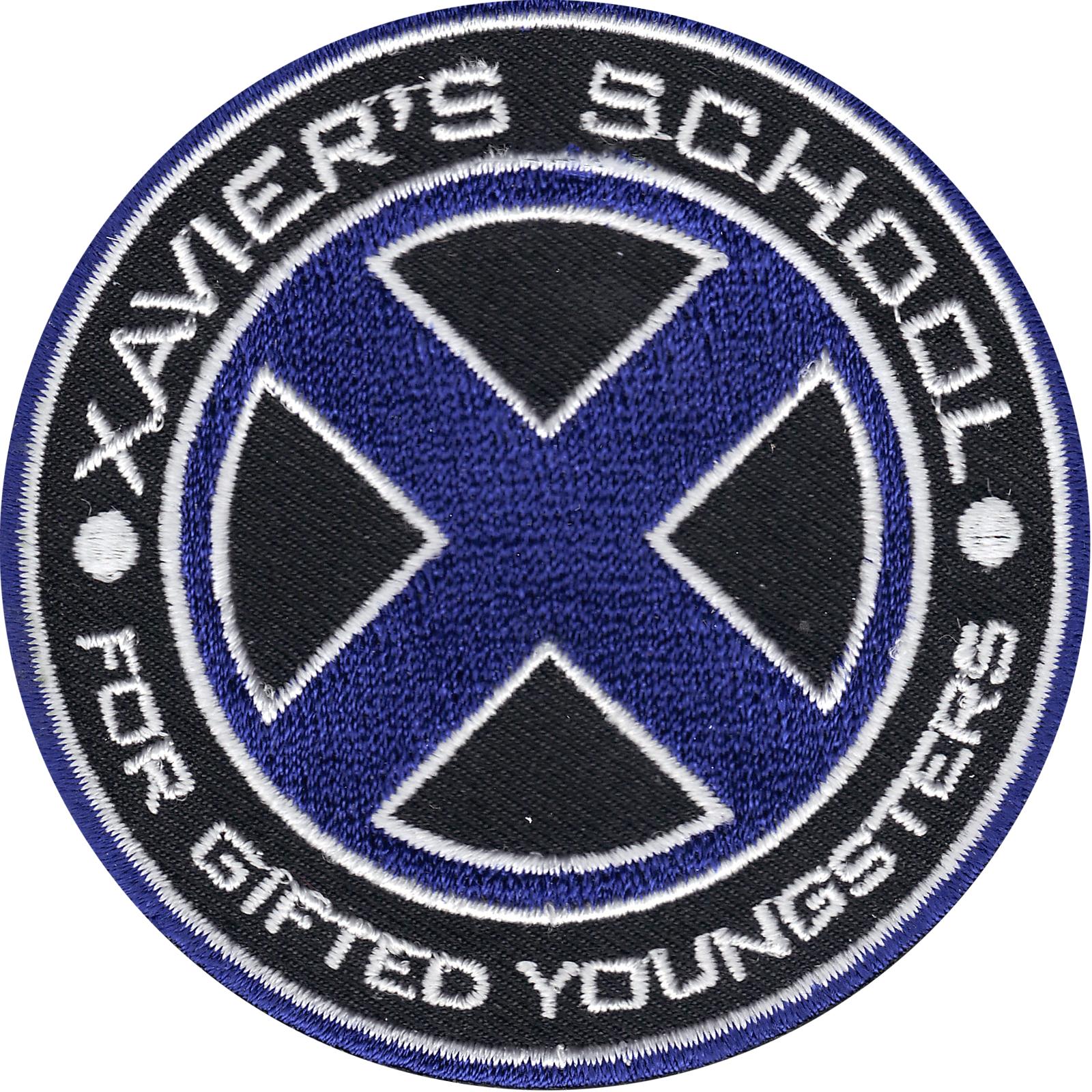 Marvel X-Men Xavier's School Logo Iron on Patch