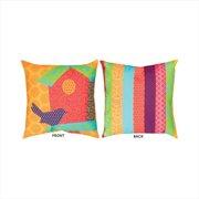 Manual Woodworkers & Weavers Pop Rhythm Birdhouse Pillow