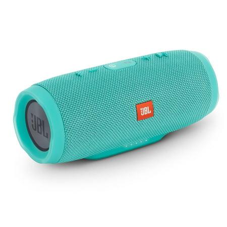 jbl charge 3 teal open box waterproof bluetooth speaker. Black Bedroom Furniture Sets. Home Design Ideas