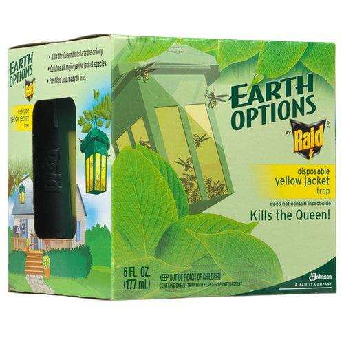 Raid Earth Options Disposable Yellow Jacket Trap