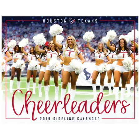 Houston Texans 2019 Cheerleaders Sideline Calendar - No Size](Houston Texans Halloween Decorations)