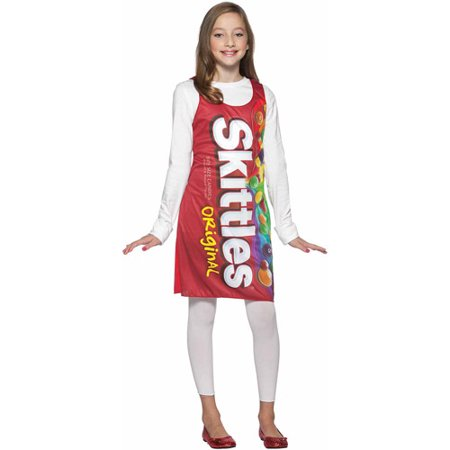 skittles tank dress tweenteen halloween costume - Teen Halloween Outfits