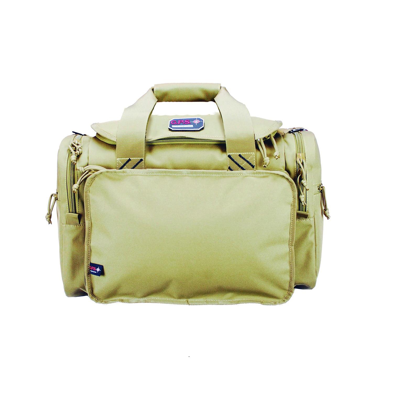 G.P.S. Large Range Bag Tan