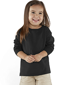 Rabbit Skins Toddler Fine Jersey Long Sleeve T-Shirt RS3302