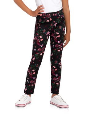 Wonder Nation Printed Pull-on Jegging Jean (Little Girls, Big Girls & Plus)