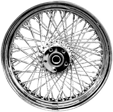 Drag Specialties 0203-0050 Laced Wheel Assembly Front