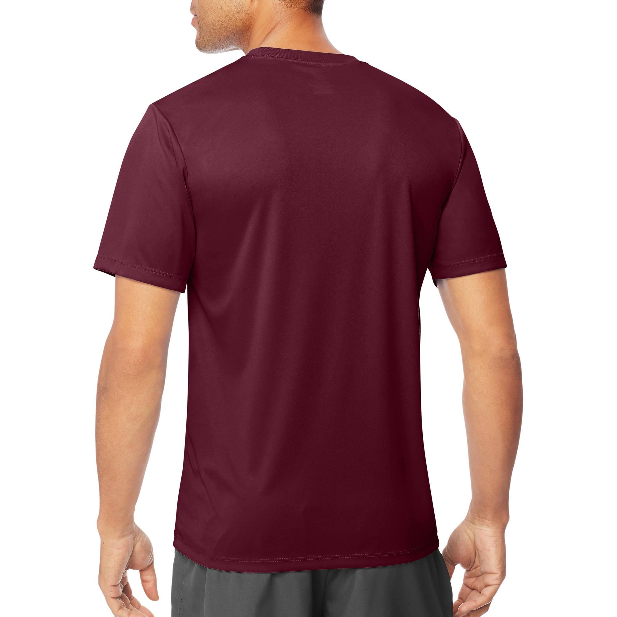 d72c03e3919 Sport Men s Short Sleeve CoolDri Performance Tee (50+ UPF) - Walmart.com