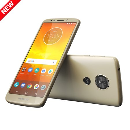 New Moto E5 (5th Gen) 16GB XT1944-4 Dual Sim GSM Factory Unlocked 4G LTE 5.7