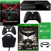 Xbox One 500GB Gears of War Bundle with Arkham Knight & Accessories