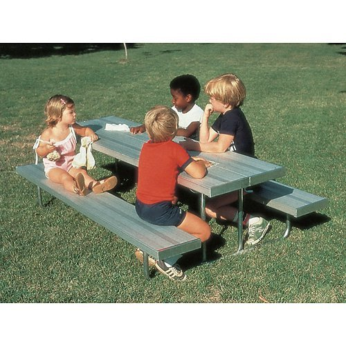 SportsPlay Early Years Rectangle Aluminum Kids Picnic Table