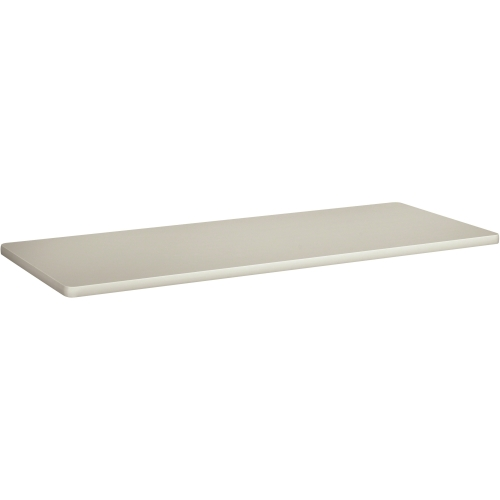 HON Rectangular Training Table Top Without Grommets, 60w x 24d, Light Gray BTR2460NQQ