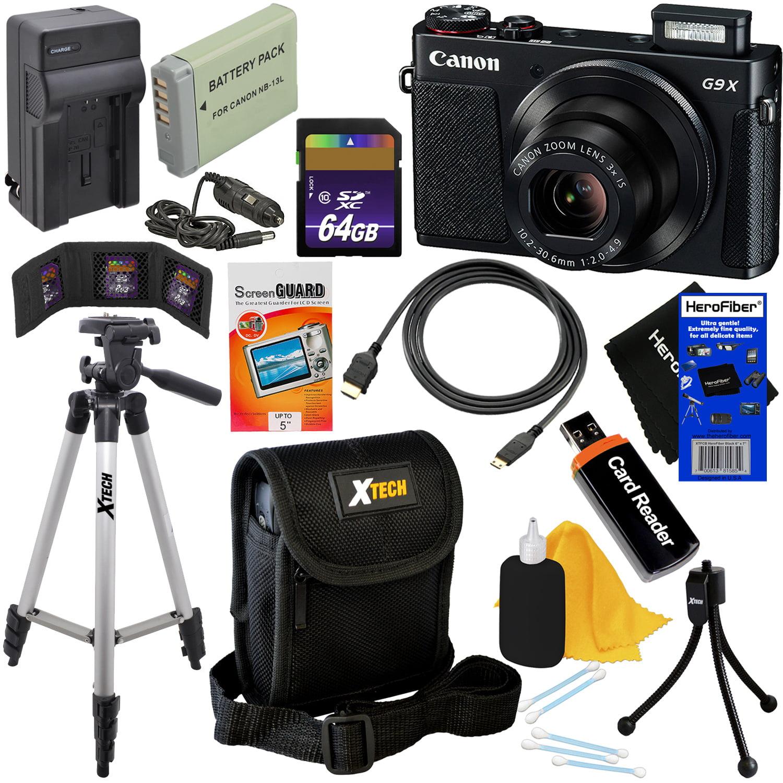 Canon PowerShot G9X Digital Camera with DIGIC 6 Processor...