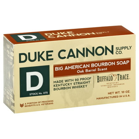 Duke Cannon Big American Bourbon Bar Soap - 10oz