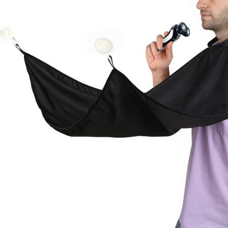 Salon-Grade Hair Beard Catcher Cap Apron Bathroom Cape For - Long Hair And Beard Costume Ideas