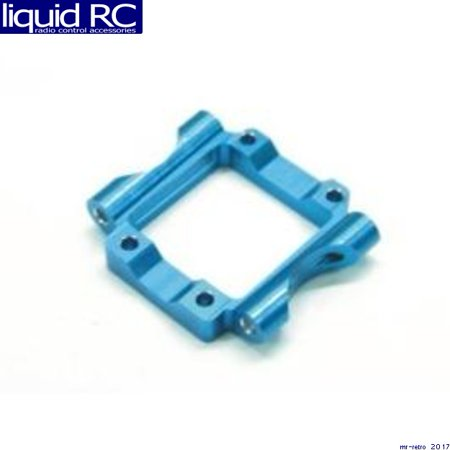 Aluminum Pivot Block - GPM Racing SMT010 Losi Mini-T Blue Aluminum Rear Lower Pivot Block