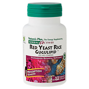 Herbal Actives Red Yeast Rice Gugulipid by Nature's Plus