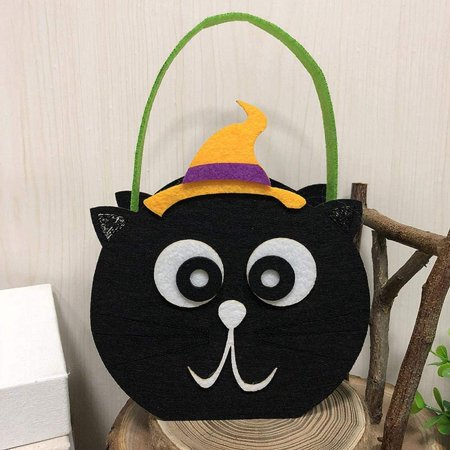 Baby Trick Or Treat Bags For Kids Reusable Candy Goo Totes Baggies Party Favor Witches Hy Pumpkin Face Basket Bag Present