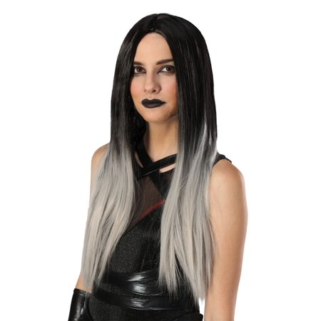 Women's Black and Grey Ombre Wig - image 1 of 1