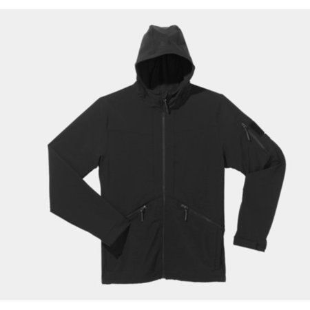 d5a6d4597fa ... Large UPC 887162158424 product image for Under Armour Tactical  Softshell Jacket 2.0 Black Large 1238169001LG