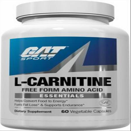 Gat L Carnitine Vegetable Capsules  60 Ct