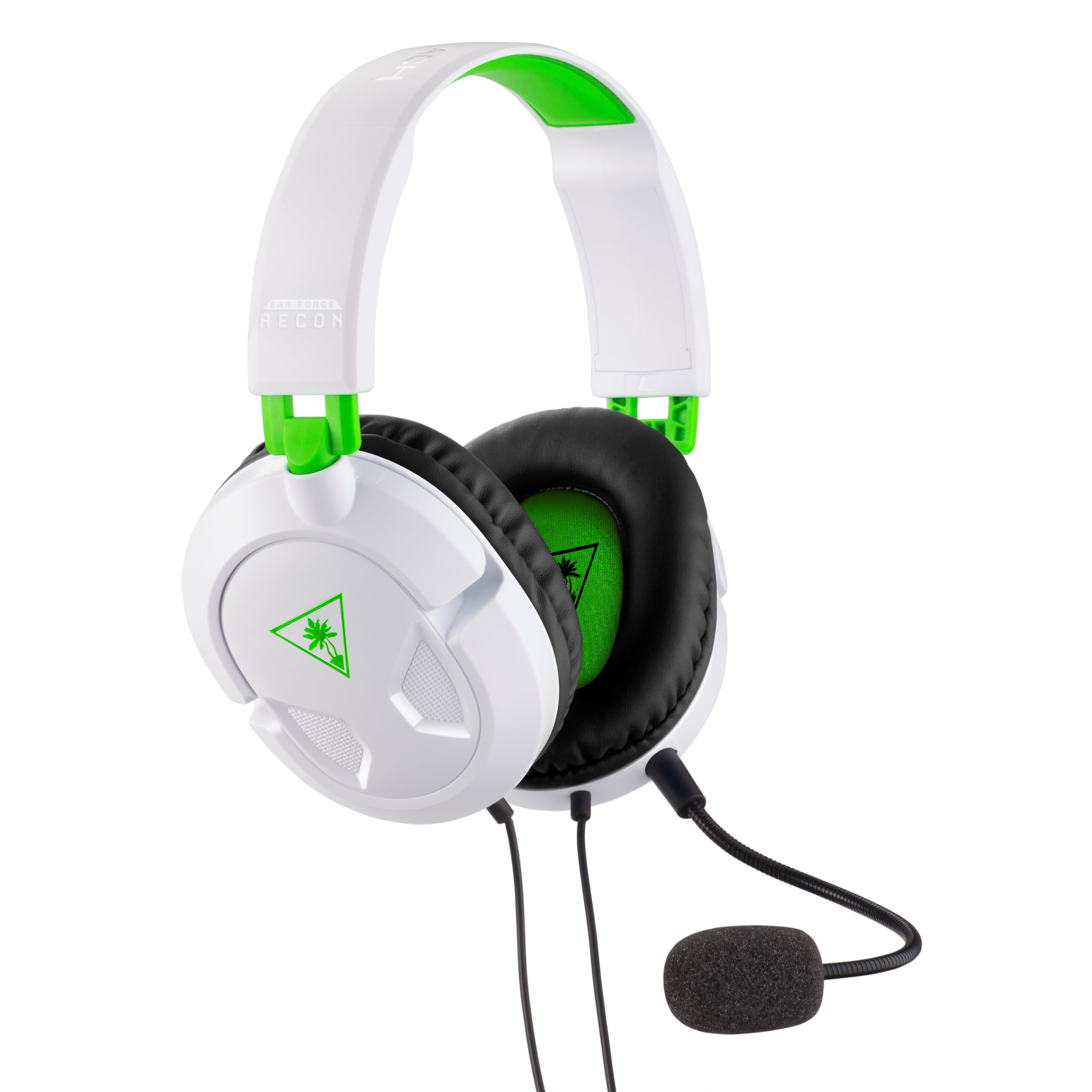 a00858f1dc8 Turtle Beach Recon 50X Gaming Headset for Xbox One, PS4, PC, Mobile (White)  - Walmart.com