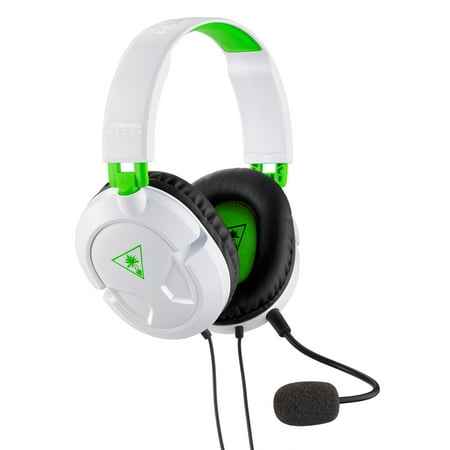 - Turtle Beach Recon 50X Gaming Headset for Xbox One, PS4, PC, Mobile (White)