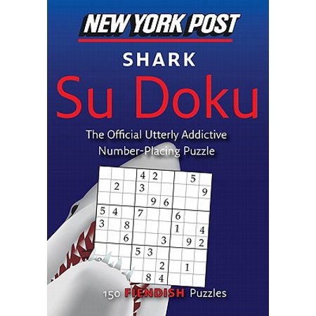 New York Post Shark Su Doku : 150 Fiendish - Shark Craft