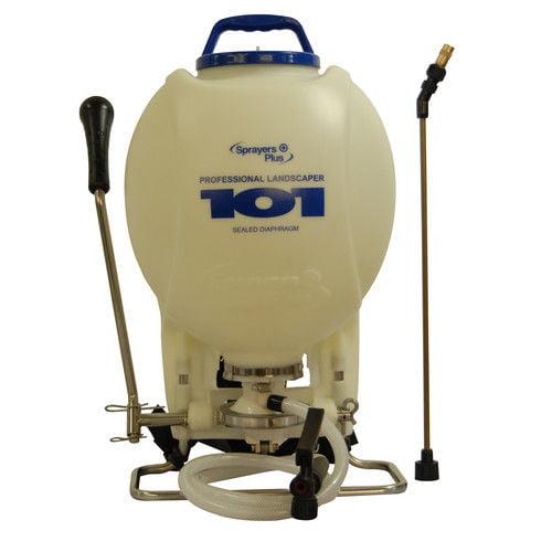 Sprayers Plus 101 4 Gallon Professional Backpack Sprayer w  Sealed Diaphragm by